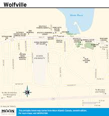 Bridgewater State University Map by Printable Travel Maps Of Atlantic Canada Moon Travel Guides