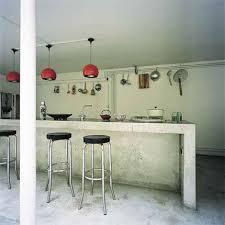comptoir ciment cuisine cuisine moderne en béton succombez à la tendance