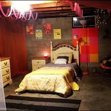 basement bedroom ideas unfinished basement ideas adorable unfinished basement bedroom