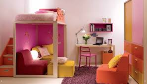 White Bunk Bed With Stairs Kids Bedroom Pastel Color Of Kid Furniture With White Bunk Bed
