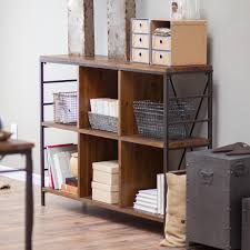 Steel Frame Bookcase Townsend 6 Cube Bookcase Hayneedle