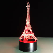 eiffel tower decorations new year 2018 christmas decorations for home 3d illusion eiffel