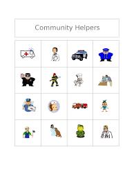 clubhouse academy free bingo game community helpers
