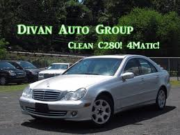 mercedes c280 4matic 2006 2006 mercedes c class awd c280 luxury 4matic 4dr sedan in