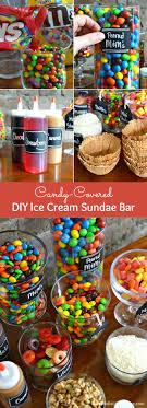 sundae bar toppings diy ice cream sundae bar
