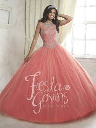 coral quince dress house of wu 56315 quinceanera dress madamebridal