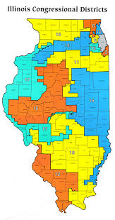 Southern Illinois Map by Illinois State District Map Afputra Com