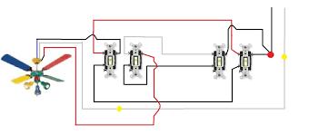 ceiling fans with lights hunter fan light wiring diagram regard