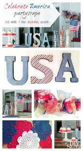 red white and blue diy diy show off diy decorating and home red white and blue decorative accents diyshowoff celebrations challenge michaelsmakers