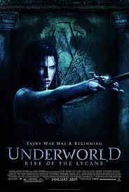 underworld rise of the lycans movie poster 2 of 6 imp awards