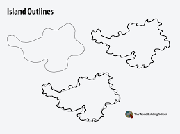 how to draw a map how to draw land