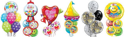 delivery of balloons for birthdays funky balloons brisbane qld helium balloon gift decorations