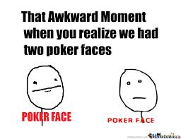 Poker Face Memes - what does poker face mean meme slots togo