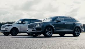 bentley bentayga silver luxury suv battle bentley bentayga vs range rover svautobiography