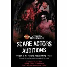 halloween horror nights scare actor auditions ussaudition instagram photos and videos pictastar com