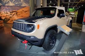 jeep pickup comanche 2016 sema jeep comanche