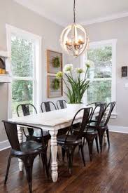 Dining Room Lighting Ideas Pictures House Of Turquoise Harper Construction I Have These Chairs Great