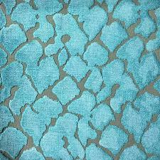 Peacock Velvet Upholstery Fabric Hendrix Leopard Pattern Cut Velvet Upholstery Fabric By The Yard