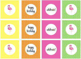 free printable halloween cupcake toppers we heart parties free printables flamingo party free printables