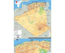 Map Of Libya Maps Of Algeria Detailed Map Of Algeria In English Tourist Map