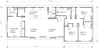 four bedroom house plans 4 bedroom transportable homes floor plans