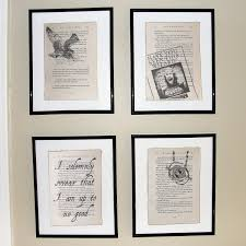 harry potter prisoner of azkaban upcycled book page art prints