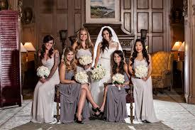 light gray bridesmaid dresses brides bridesmaids photos gray bridesmaids dresses inside weddings