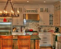 White Country Kitchen Houzz - Country white kitchen cabinets