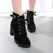 womens high heel boots australia womens boots fashion high heel lace up ankle boots buckle