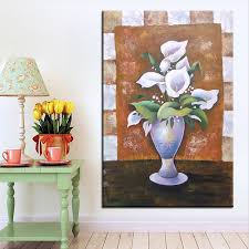 best dpartisan print no 260 flower wall painting amazing oil