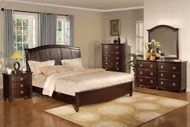 28 brown bedroom sets trudell dark brown bedroom set from brown bedroom sets dark brown transitional bedroom set w faux leather headboard