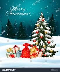 holiday christmas background sack full gift stock vector 534810508