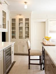 Floor To Ceiling Cabinet by Two Tone Cabinets Contemporary Kitchen The Renovated Home