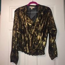 michael kors blouses buy michael kors blouses gold off53 discounted