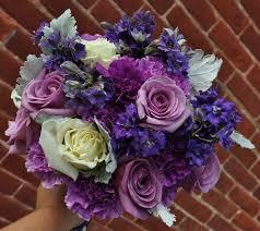 purple wedding flowers purple ivory bridal bouquets columbus ohio wedding flowers