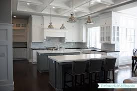 White Kitchens With Islands by My New Kitchen The Sunny Side Up Blog