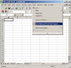 create a report as a table in excel ms excel 2003 how to create a pivot table