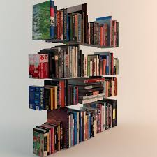 3d Bookshelf 188 Realistic Books 3d Model Cgtrader