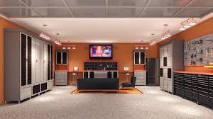 modern minimalist design of the garage room design ideas that has