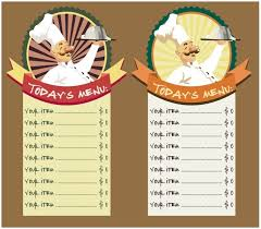 11 free sample breakfast menu templates u2013 printable samples
