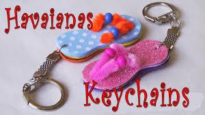 diy crafts how to make havaianas key chain ana diy crafts