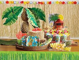 luau party supplies hawaiian luau party decorations party tableware at party
