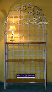 etagere ferro battuto wrought iron 繪tag罟re flower made in italy gbs