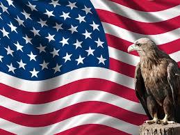 Bald Eagle On Flag American Flag With Eagle Wallpaper Wallpapersafari
