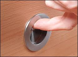 Recessed Cabinet Pull Stainless Steel Round Recess Pulls Lee Valley Tools