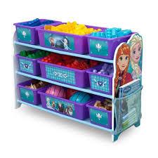 panier rangement chambre b la reine des neiges meuble enfant en bois avec 9 rangements