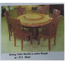 kitchen table furniture dining table marble 6 seater with 215 chair