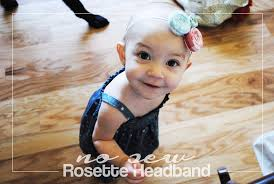 white and blue headband diy no sew rosette headband in white and blue my tulle