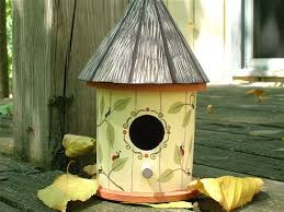 130 best painted birdhouse images on painted