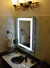 Big Wall Mirrors by Bathroom Cabinets Lighted Vanity Mirror Wall Photo Lighted